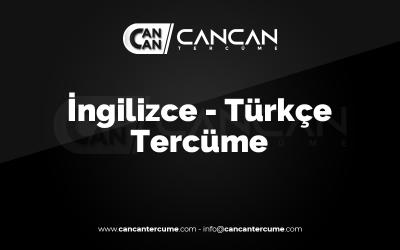 ingilizce-turkce-tercume