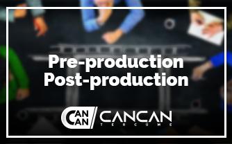Pre-production ve Post-production Hizmeti