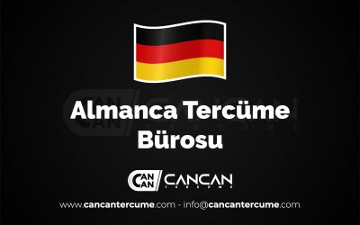 Almanca Tercüme Bürosu