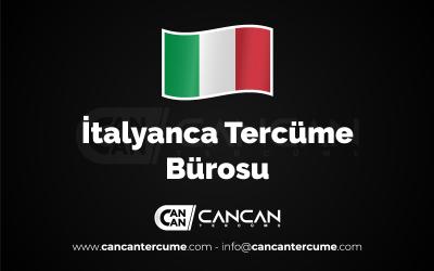 İtalyanca Tercüme Bürosu